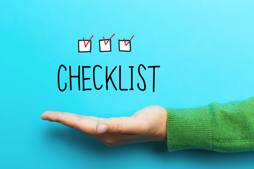 First Home Essentials Checklist